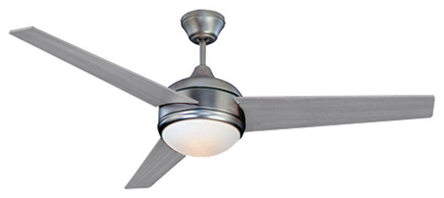Homeselects Contempo 52 Ceiling Fan With Pull Chain.