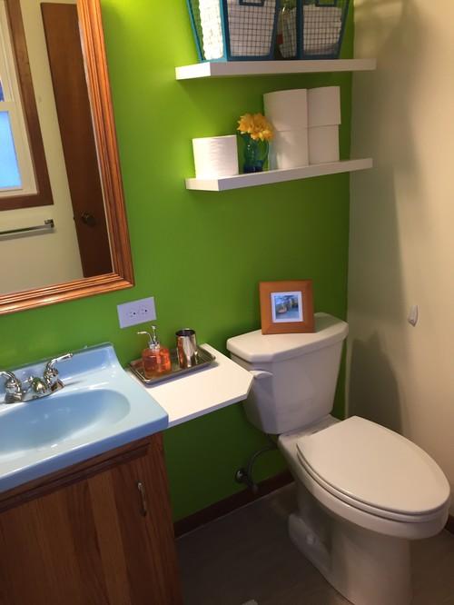 Tiny bathroom remodel on a budget (amateur)