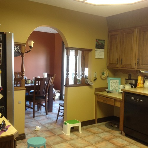 I Need Help For Updating My Kitchen Dining Room