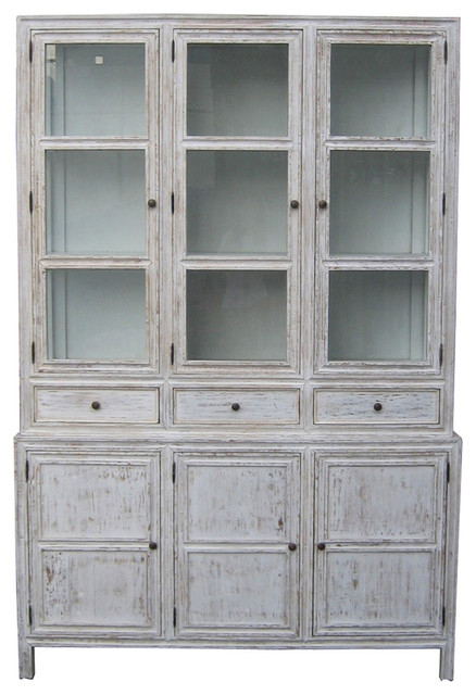 Colonial Hutch - Farmhouse - China Cabinets And Hutches - by Noir