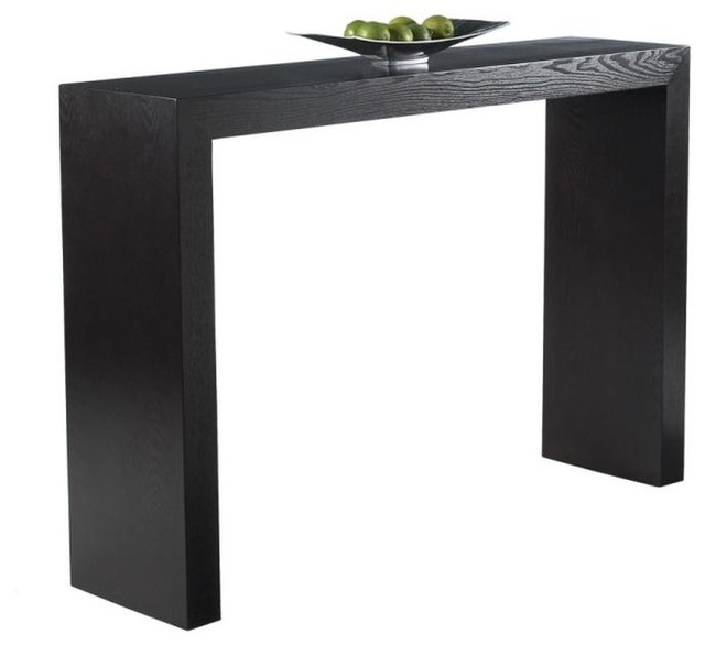 Slimline Console Table c shape console table - modern - console tables -artefac