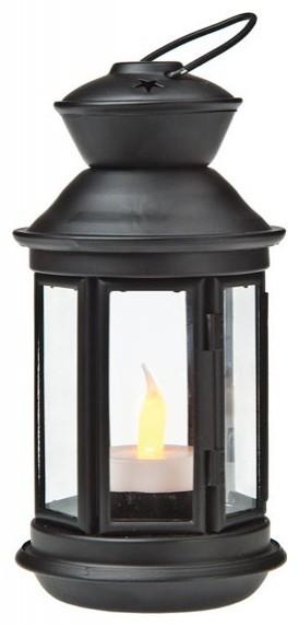 Black Hurricane Candle Lanterns