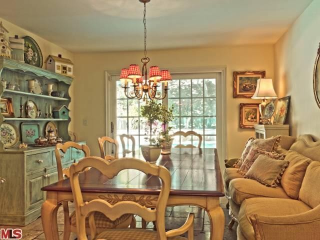 Dining Room-French Country Renovation, Woodland Hills, CA ...