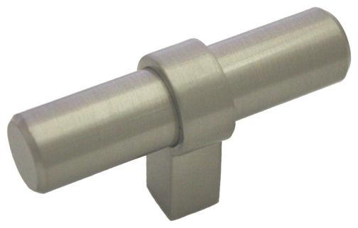 ... Nickel European Bar Pulls, T-Bar Knob cabinet-and-drawer-handle-pulls