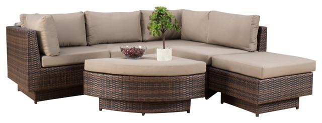 Beautiful Brenan Outdoor 6Piece Sofa Sectional