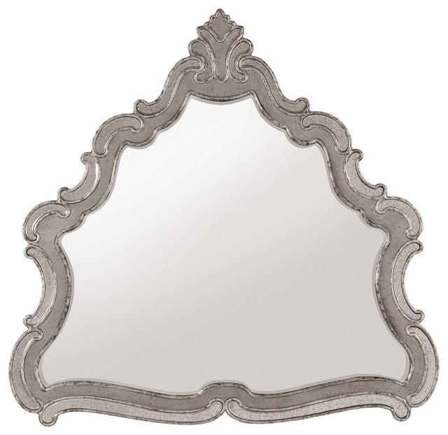 Hooker Furniture Bedroom Sanctuary Shaped Mirror.