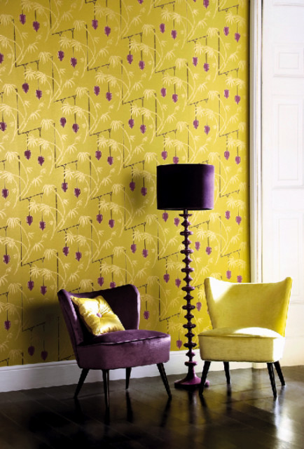 Delightful Yellow U0026 Purple Living Room Source · Purple And Yellow Decor Home Decor 2017 Part 15