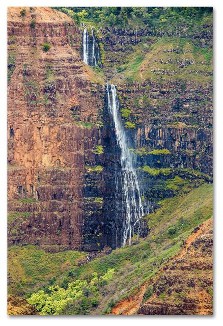 Pierre Leclerc &x27;waipoo Falls&x27; Canvas Art, 24x16.