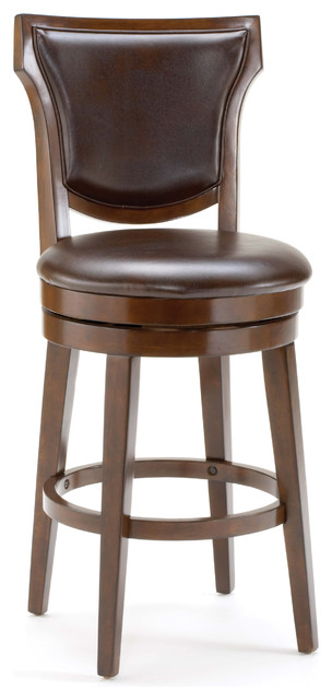 Country Heights Swivel Stool Transitional Bar Stools