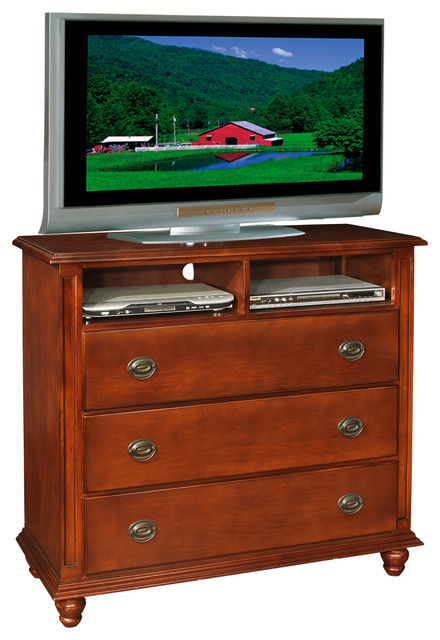 Cypress Media Chest, Cherry.