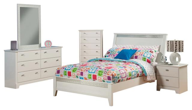 6 piece bedroom set. Sandberg Furniture Hailey 6 Piece Bedroom Set transitional kids bedroom  furniture Transitional