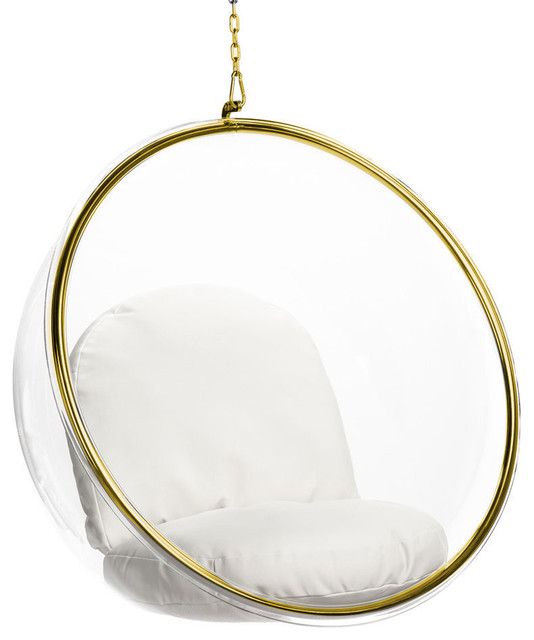 Bubble Chair Gold by Imtinanz