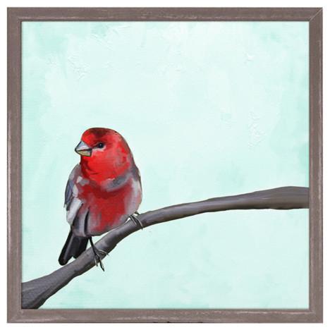 """Ruby"" Mini Framed Canvas by Cathy Walters"