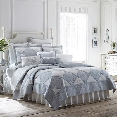 Lenox French Perle Quilt Bedding Set