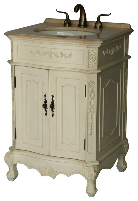 24 Antique Style Single Sink Bathroom Vanity Model 1905 24 261be Victorian Bathroom Vanities And Sink Consoles By Chinese Arts Inc Houzz