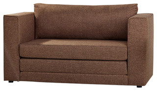 Corona Convertible Loveseat Sleeper Transitional Sofas By Gold Sparrow