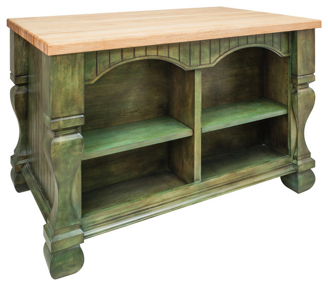 Jeffrey Alexander Tuscan Kitchen Island Aqua Green By Hardware