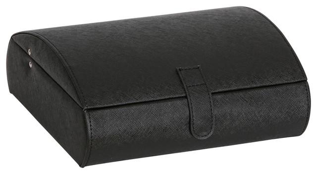 Mele & Co. Parker Faux Leather Watch Case