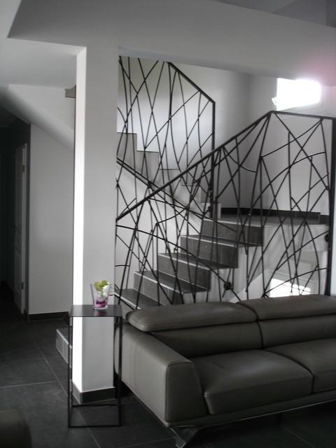 garde corps design en fer forg. Black Bedroom Furniture Sets. Home Design Ideas