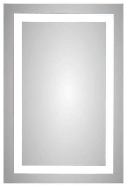 "Meek Mirror Lighted Backlit Led Mirror Ml4011, 18""x36""."
