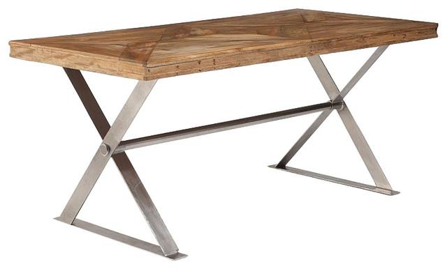 Artisan Cross Leg Dining Table, Large
