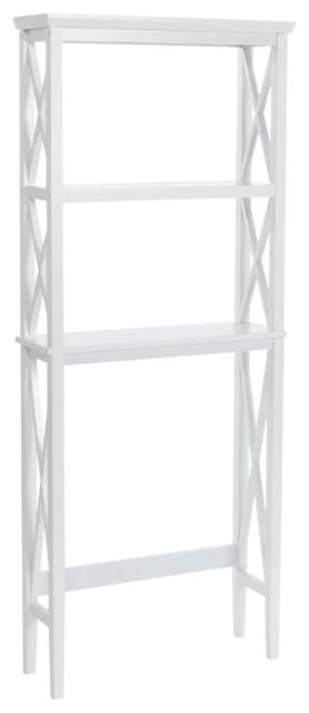 X-Frame Modern Mission Style Bathroom Space Saver