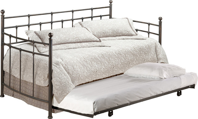 Providence Daybed W/suspension Deck And Trundle - 380dblhtr.