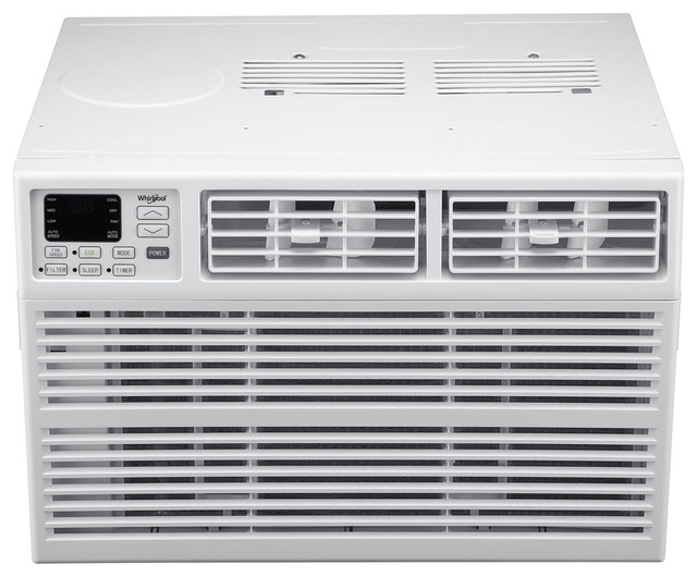 Energy Star 22,000 Btu 230v Window-Mounted Air Conditioner With Remote Control.