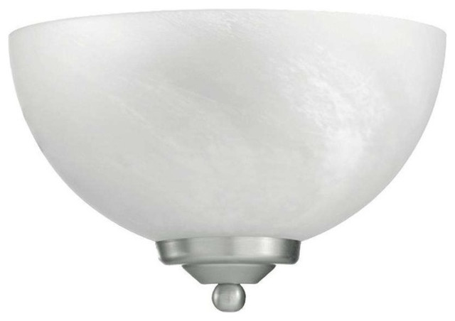 Quorum Bathroom Lighting quorum 625-11-95 hemisphere sconce, old world - transitional