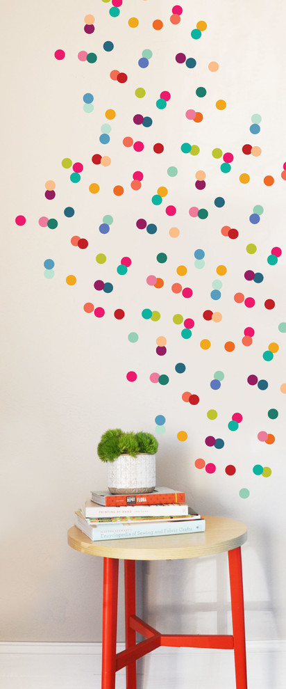 Dots Wall Decal, Rainbow
