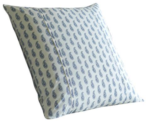 Paisley Sham Contemporary Pillowcases And Shams By
