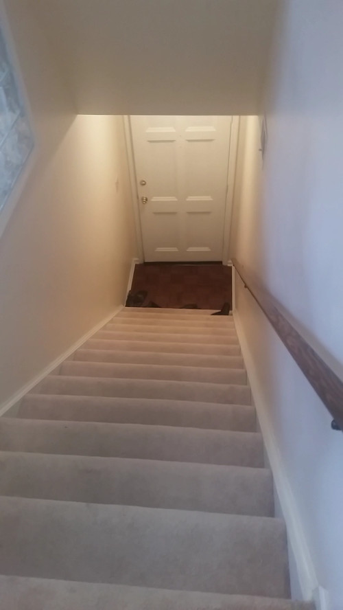 Stairway Entry, No Foyer!