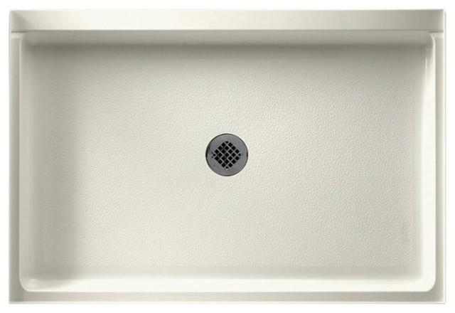 Swan 32x48x5.5 Veritek Shower Base, Bisque