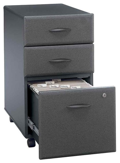 Drawer File Cabinet Double Lock, Series A - Filing Cabinets - by ...