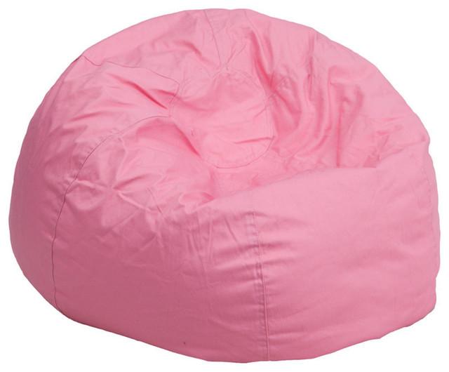 Cool Flash Furniture Oversized Solid Light Pink Bean Bag Chair Beatyapartments Chair Design Images Beatyapartmentscom
