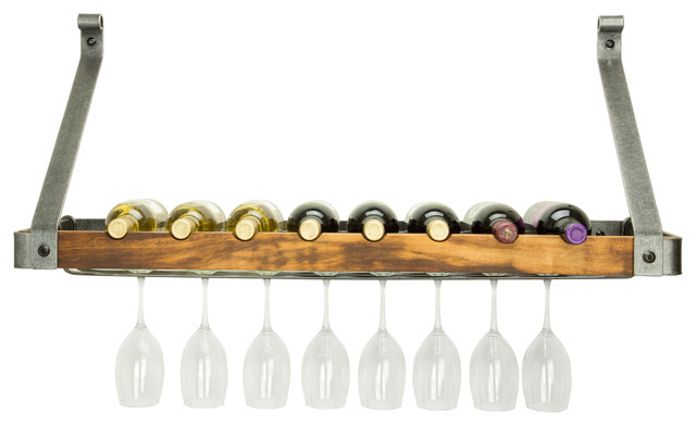 Signature 36 Single Wine Rack With Tigerwood.