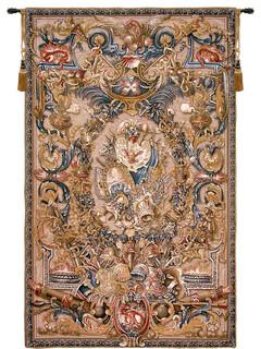 """Feu, Wall Tapestry, 60""""x37"""""""