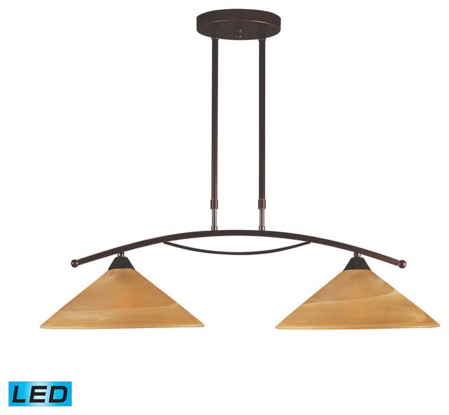 contemporary 2 helius lighting. Elysburg LED 2-Light Island Light In Tea Swirl Glass Transitional-kitchen-island Contemporary 2 Helius Lighting