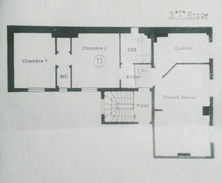 Besoin d 39 id es pour nous affranchir de deux chambres en for Appartement 60m2 design