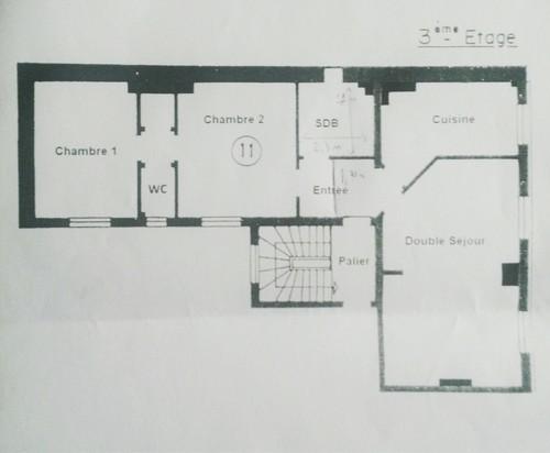 Besoin d 39 id es pour nous affranchir de deux chambres en - Chambre en enfilade ...