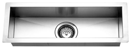 Houzer Ctb 2385 Contempo Series Undermount Stainless Steel Bar Prep Sink