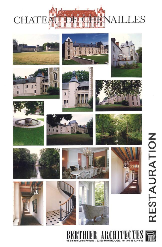 Restauration du Château de Chenailles