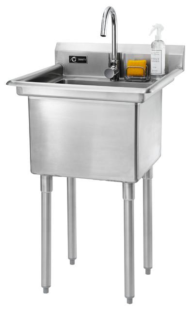 ... Stainless Steel Utility Sink - Industrial - Utility Sinks - by TRINITY