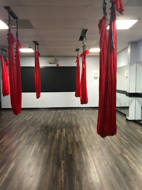 Aerial Yoga Studio Before & After