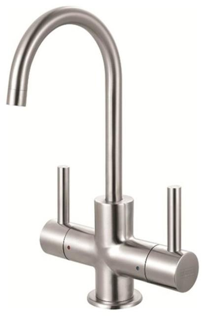 Franke LB13250 Steel Little Butler Deck Mount Hot/Cold Water Dispenser