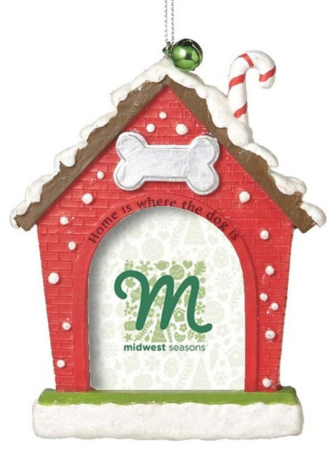 Dog house picture frame ornament contemporary for Contemporary ornaments for the home