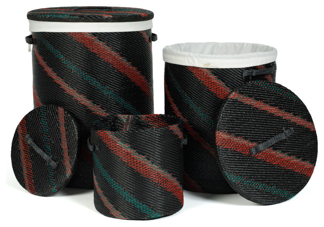 Harare Baskets, Black tropical-baskets
