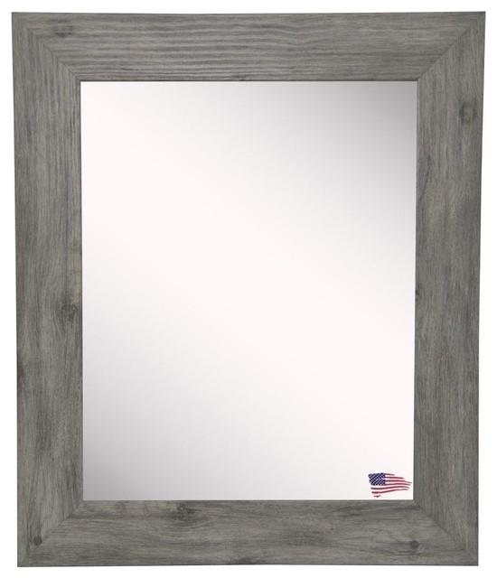 Raynor Gray Barnwood Wall Mirror, 26.5x32.5.