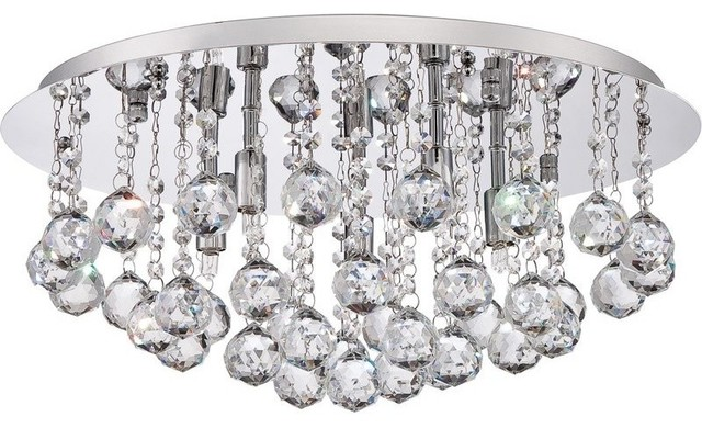 Erela 5-Light Flush Mount.