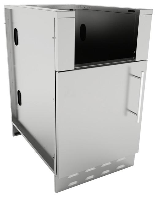 Shop Houzz | SUNSTONE Sunstone Appliance Base Cabinet With ...